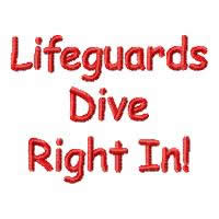 Lifeguards Dive Right In