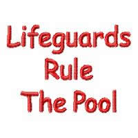 Lifeguards Rule The Pool