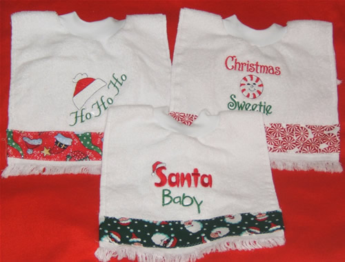 Christmas Tea Towels uk Tea Towel Bibs Christmas