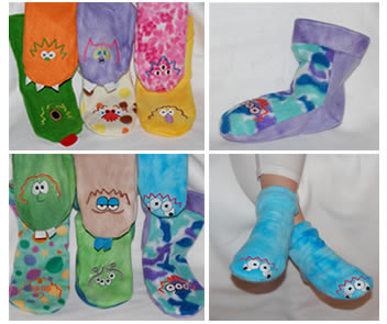 Polar Feet Fleece Socks & Slippers — Fleece Socks