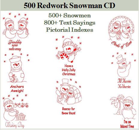 500 Snowman CD